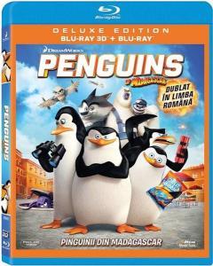 Pinguinii din Madagascar 2D + 3D (Blu Ray Disc) / Penguins of Madagascar