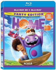 Acasa 2D + 3D (Blu Ray Disc) / Home
