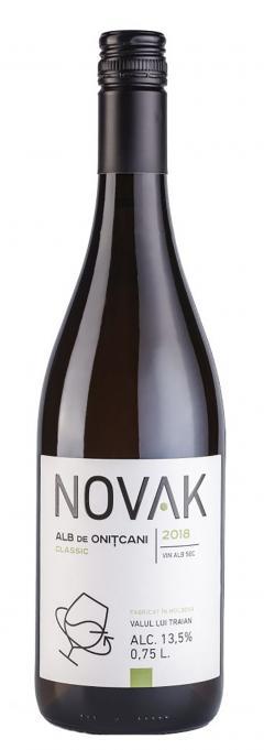Vin alb - Novak, Onitcani, Classic, sec, 2018