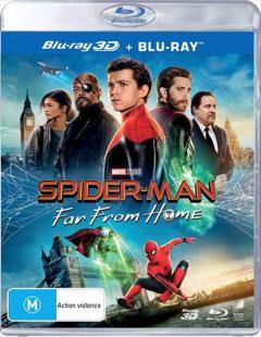 Omul-Paianjen: Departe de casa / Spider-Man: Far from Home - (Blu-ray 3D + Blu-ray 2D)
