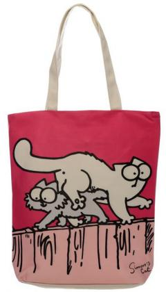 Traista cu fermoar Simon's Cat - Roz