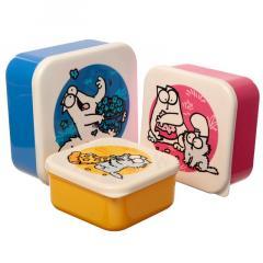 Set 3 cutii pentru pranz - Simon's Cat