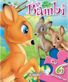 Povesti cu puzzle - Bambi