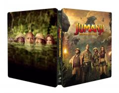 Jumanji: Aventura in jungla 2D + 3D (Blu Ray Disc) / Jumanji: Welcome to the Jungle