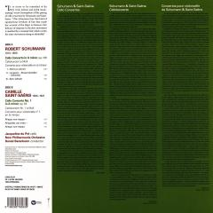 Schumann & Saint-Saens: Cello Concertos - Vinyl