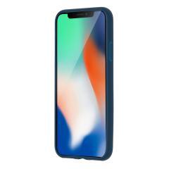 Carcasa iPhone X - Blue - Hard