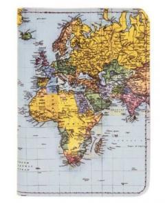 Husa pasaport - World Traveller