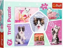Puzzle 200 piese - Cats