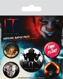 Set insigne - It Chapter 2 - Clown