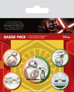 Set insigne - Star Wars - The Rise Of Skywalker - Droids
