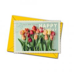 Carte postala - Birthday Tulips