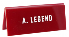Semn de birou - A. Legend