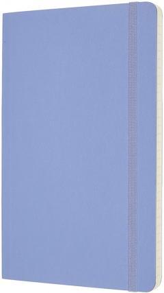 Carnet Moleskine - Hydrangea Blue Large Ruled Notebook Soft