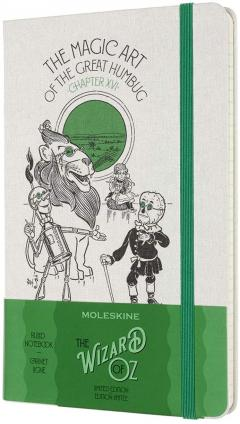 Carnet - Moleskine - Wizard of Oz Limited Edition Ruled Notebook - The Magic Art of the Great Humbug
