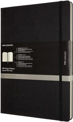 Agenda - Moleskine - Pro Project Planner - Black, A4, Hard Cover