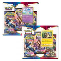 Pokemon TCG: Sword & Shield 1 - Three Booster Blister