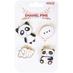 Set 4 insigne - Panda