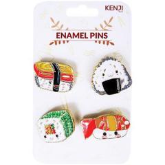 Set 4 insigne - Sushi