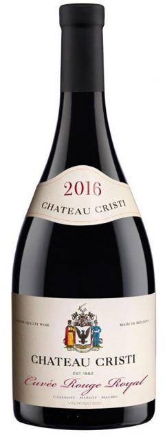 Vin rosu - Chateau Cristi, Cuvee Rouge Royal, sec, 2016