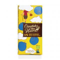 Ciocolata neagra cu afine - Dark Blueberries Bio