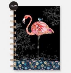 Carnet cu spirala - Flamant notebook A6