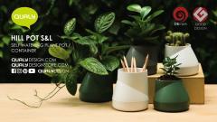 Ghiveci - Hill Pot S (verde)