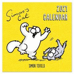 Calendar 2021 - Square - Simon's Cat