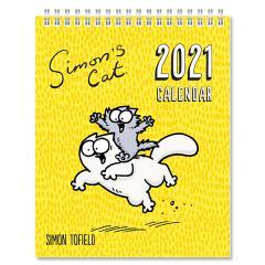 Calendar 2021 - Desk Easel - Simon's Cat