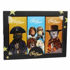 Cutie cu 3 tablete de ciocolata Chocstars