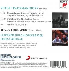 Rachmaninoff in Lucerne