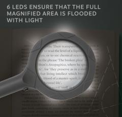 Lupa - Magnif-i Lighted Handheld Magnifier