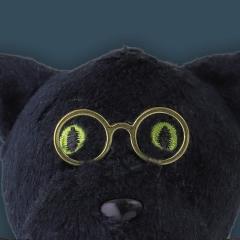 Semn de carte - Book-Tails - Black Cat
