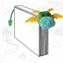 Semn de carte - Book-Tails - Dragon