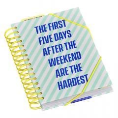 Agenda - Weekend Planner A5