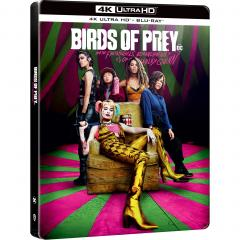 Pasari de Prada si Fantastica Harley Quinn (4K Ultra HD + Blu-Ray Steel Book) / Birds of Prey: And the Fantabulous Emancipation of One Harley Quinn
