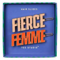 Agrafe par - Femme and Fierce Hair Slides