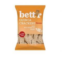 Biscuiti bio - Crackers cu quinoa si susan, 100g