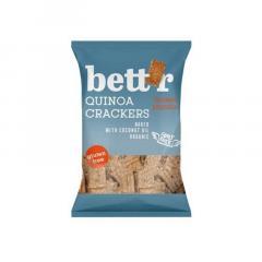 Biscuiti bio - Crackers cu quinoa si boia, 100g