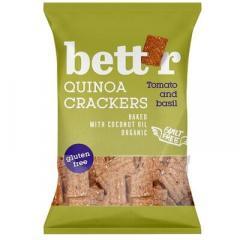 Biscuiti bio - Crackers cu rosii si busuioc, 100g