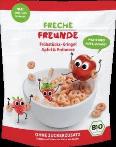 Cereale Bio - Mere si capsuni, 125g
