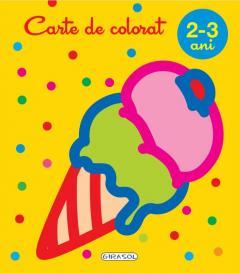 Carte de colorat, 2-3 ani