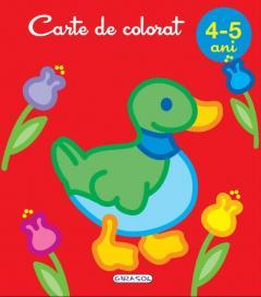 Carte de colorat, 4-5 ani