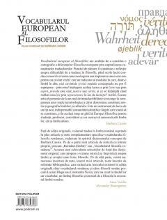 Vocabularul european al filosofiilor