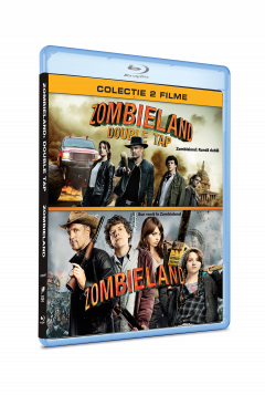 Bun venit in Zombieland + Zombieland: Runda dubla / Zombieland + Zombieland: Double Tap (Blu-Ray Disc - colectie 2 filme)