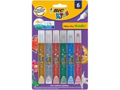 Adeziv cu sclipici - BIC Kids, 6 culori
