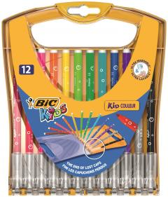 Set 12 markere colorate - Ultralavabile