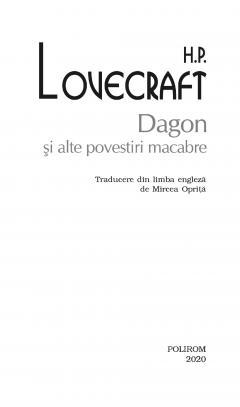 Dagon si alte povestiri macabre
