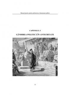 Manual practic pentru politicieni si functionari publici