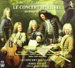 Le Concert Spirituel at the time of Louis XV