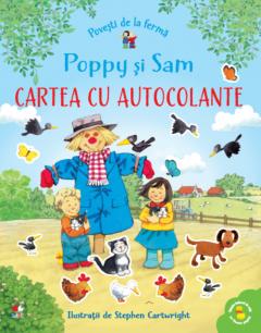 Poppy si Sam. Cartea cu autocolante